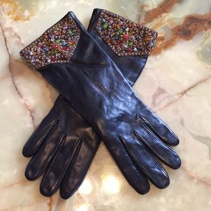 💃Sale Glamour Gloves New! (100% Leather)